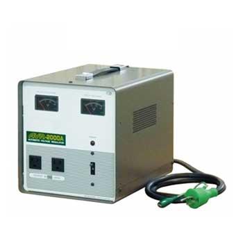 【送料無料】100V±15%から100V±2%以内へ 国内用電圧安定装置 2KVA(2000VA)
