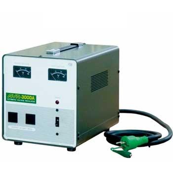 【送料無料】100V±15%から100V±2%以内へ 国内用電圧安定装置 3KVA(3000VA)