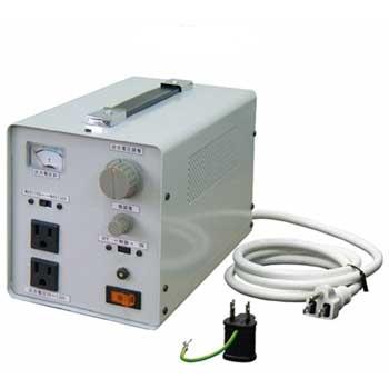 【送料無料】100V±15%⇒0~130V 出力電圧設定型安定装置 1KVA(1000VA)