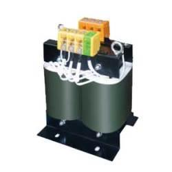 【送料無料】単相複巻 降圧電源トランス 静電シールド付 440/400/380から110/100Vへ 10KVA