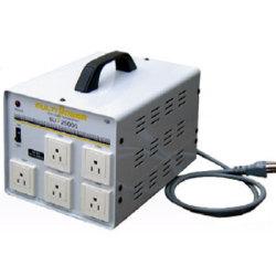 【送料無料】各国の電圧に対応したマルチ入力トランス ほとんどの電化製品が使える余裕の容量2500W