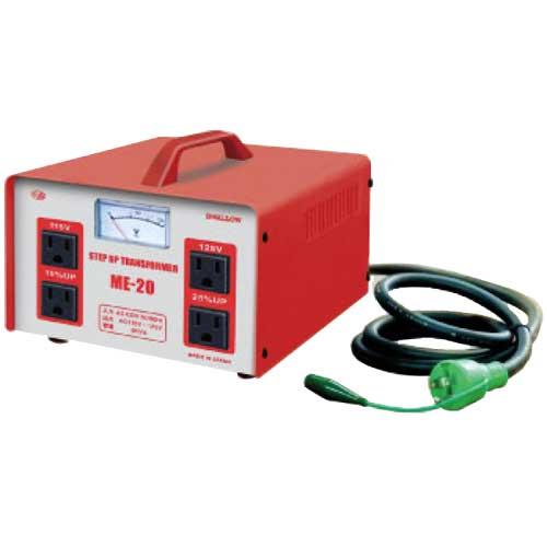 【送料無料】電圧が低い時などに100Vを115V/125Vに昇圧 2000Wまで対応の昇圧トランス