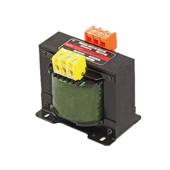 【送料無料】単相複巻 昇圧電源トランス 110V/100V⇒220V/200V 1KVA