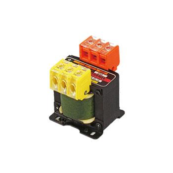 単相複巻 昇圧電源トランス  110V/100V⇒220V/200V 50VA