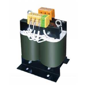 【送料無料】単相複巻 降圧電源トランス 静電シールド付 7.5KVA