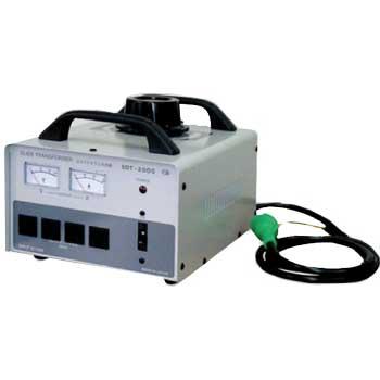 【送料無料】スライドトランス 任意の電圧を出力 100→0~130V/2KVA