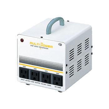 【送料無料】各国の電圧に対応したマルチ入力トランス 炊飯器にも使える容量1500W
