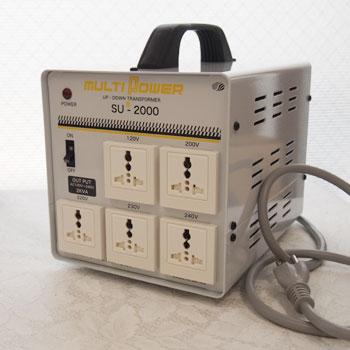 マルチ変圧器2000W