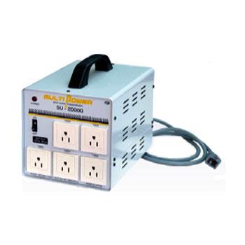 【送料無料】各国の電圧に対応したマルチ入力トランス ほとんどの電化製品が使える余裕の容量2000W
