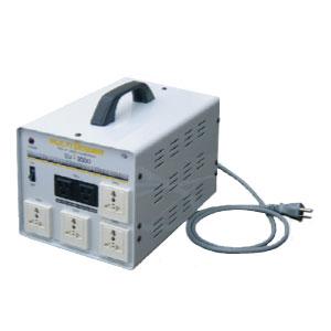【送料無料】ほぼ世界中の電圧に対応マルチトランス 複数の電化製品が使える余裕の容量3000W