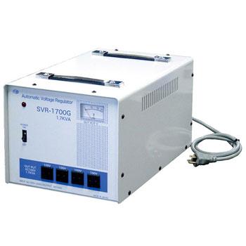 【送料無料】マルチ入力⇒100V±2% 電圧安定装置 サイリスタ式 1.7KVA(1700VA)