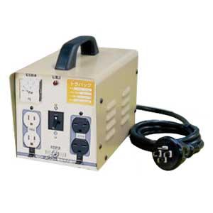 【送料無料】単相 単巻 降昇圧両用変圧器 100/200V⇒100/115/200V 容量2KVA