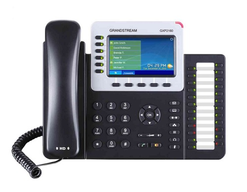 IP電話機 GRANDSTREAM GXP2160 (企業向けハイエンド)