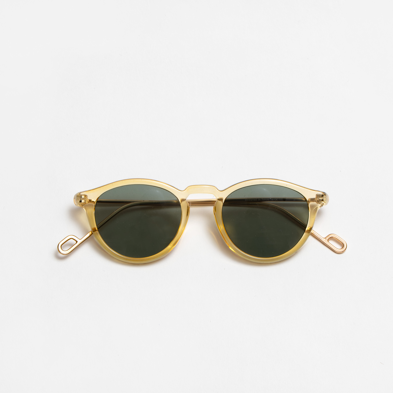 EVANS Honey Gold sunglasses 《エヴァンス ハニーゴールド サングラス》