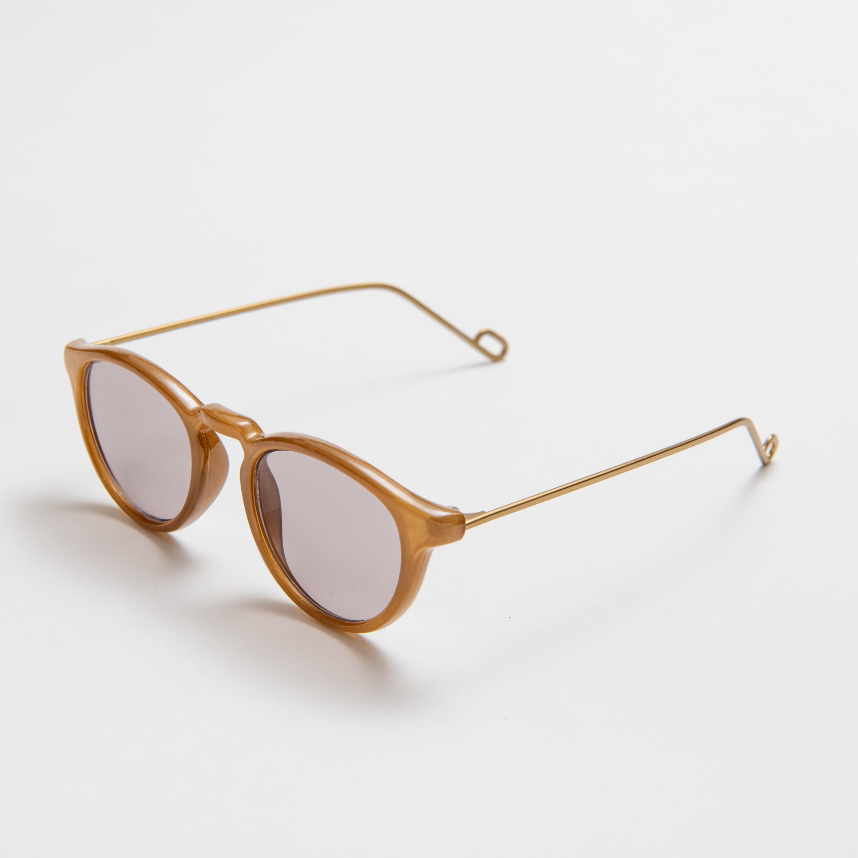 EVANS Sand Beige Gray Lens sunglasses 《エヴァンス サンドベージュ グレーレンズ サングラス》