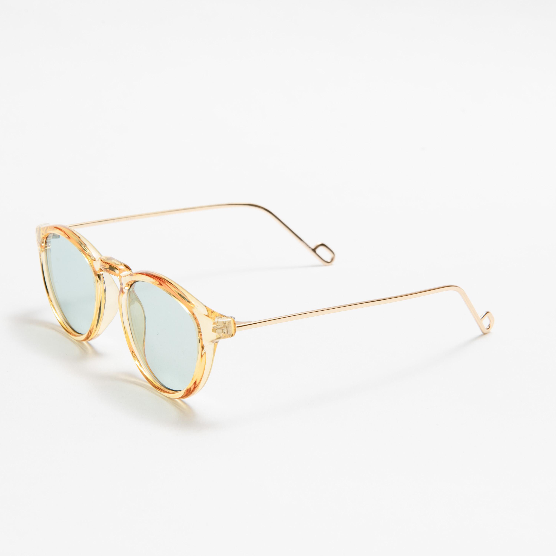 EVANS Honey Gold Light Green Lens sunglasses 《エヴァンス ハニーゴールド ライトグリーンレンズ サングラス》