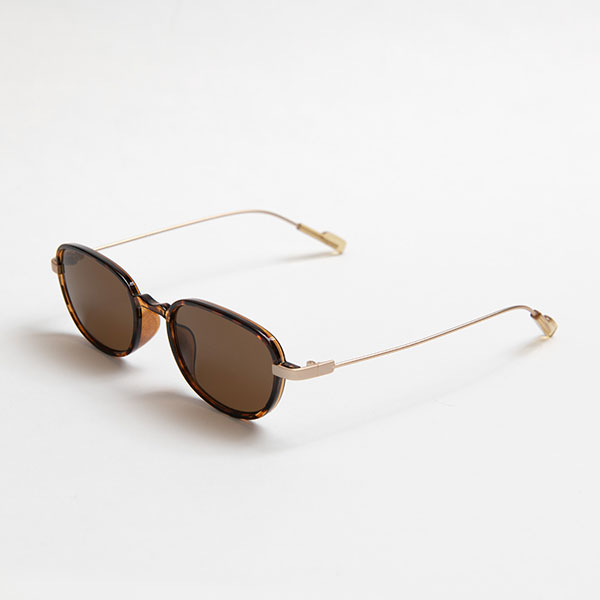 Ciqi Burt BROWN Sunglasses / バート ブラウン 【シキのサングラス】