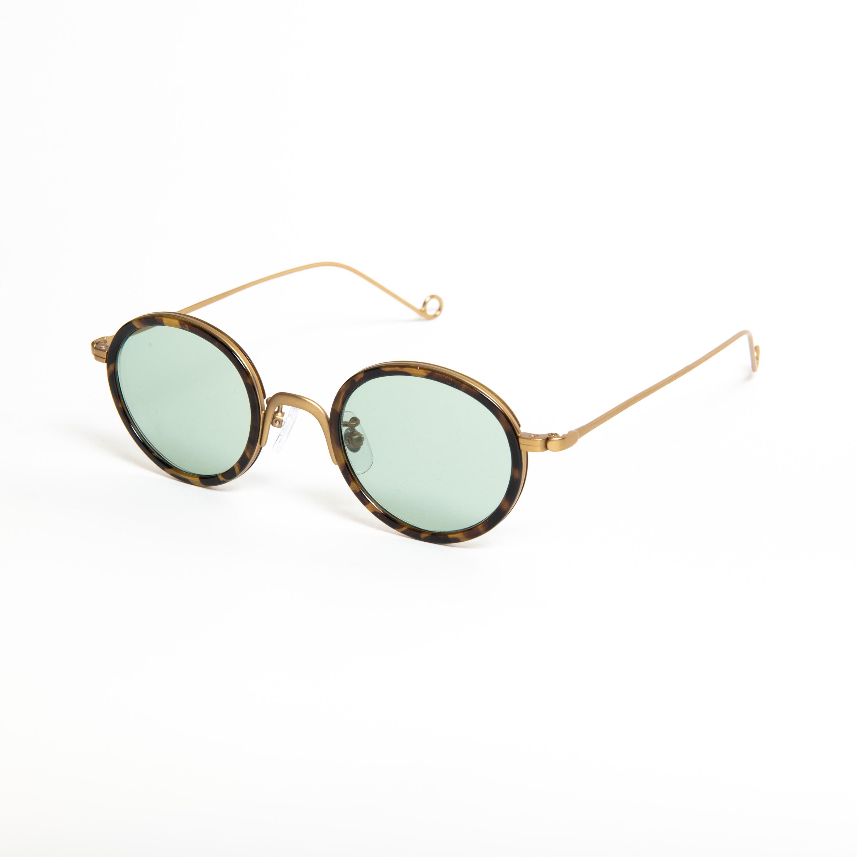 HERBIE Vintage Brown Green Lens sunglasses 《ハービー ビンテージブラウン グリーンレンズ サングラス》