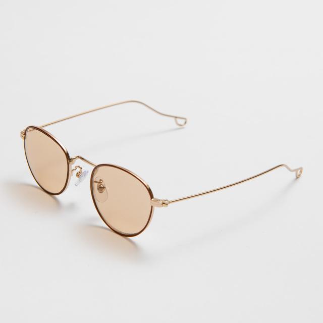 NATALIE Brown Light Brown Lens sunglasses 《ナタリー ブラウン ライトブラウンレンズ サングラス》
