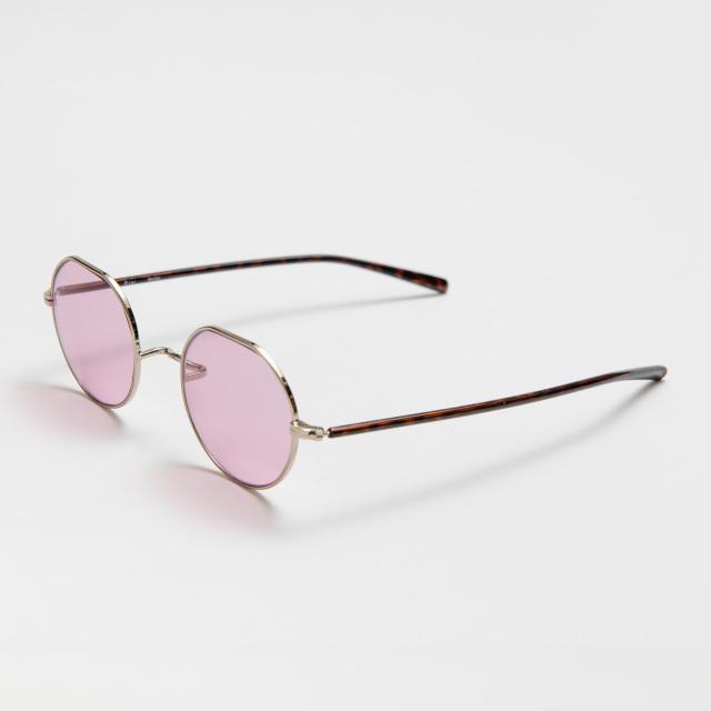 WELLER Brown Pink Lens sunglasses 《ウェラー ブラウン ピンクレンズ サングラス》