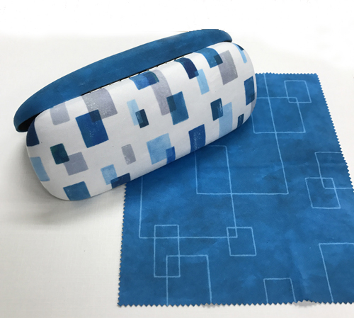 JUJUBEE Fab Case building BLUE / ファブケース ビルディングブルー 【ジュジュビー メガネケース】