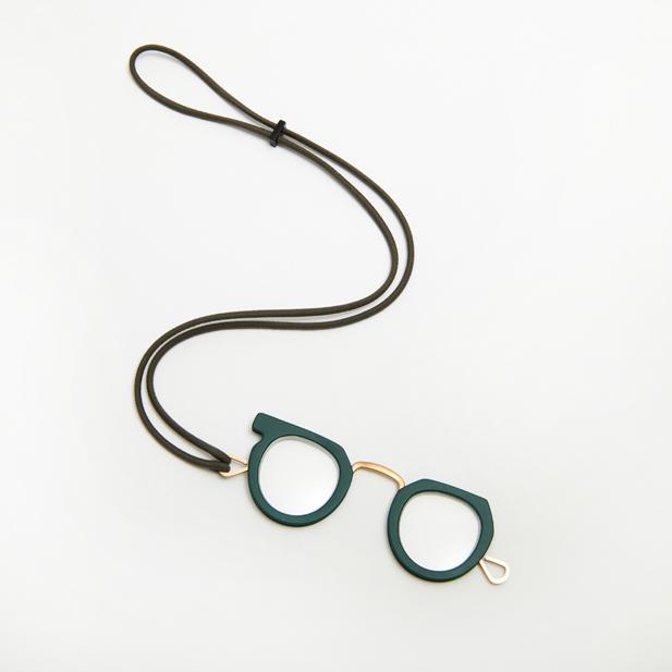 Ciqi Peep Glass Green / ピープグラス グリーン  ローネット・ルーペ・アクセサリー