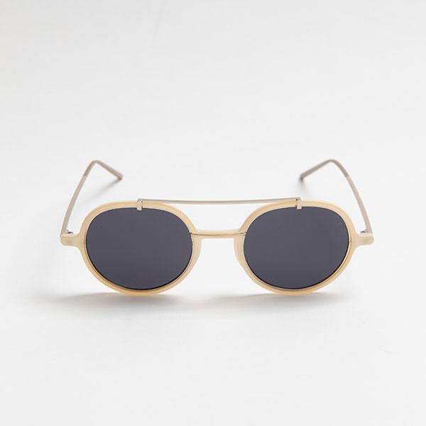 DAVE White sunglasses 《デイブ ピンク サングラス》
