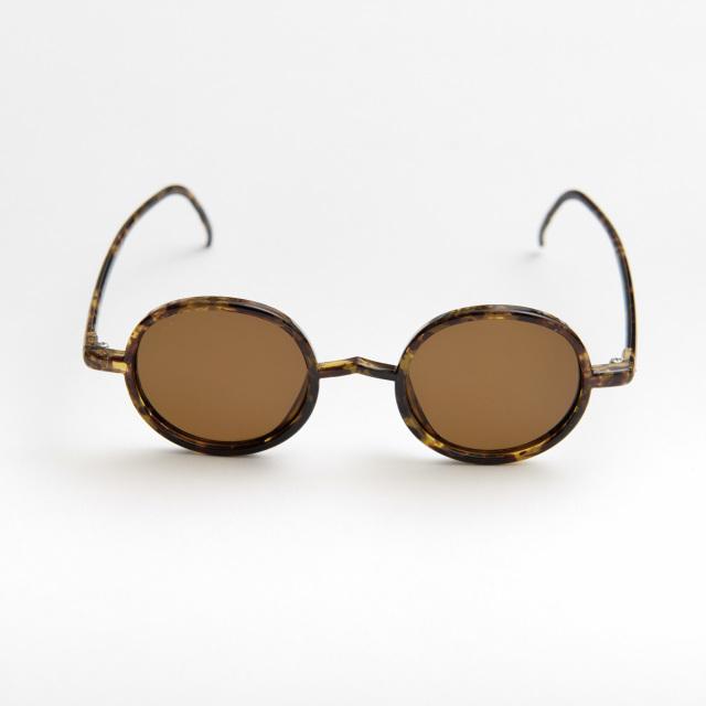 GORDON Walnut sunglasses《ゴードン ウォルナット サングラス》