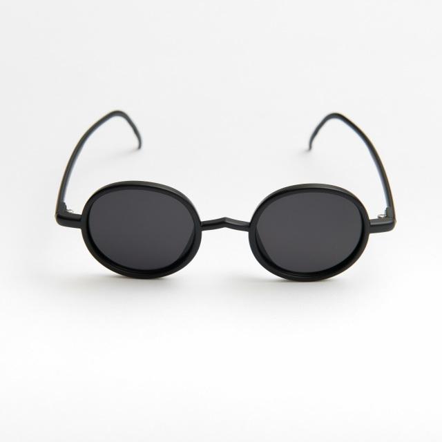 Ciqi Gordon MATTE BLACK Sunglasses /  ゴードン マットブラック 【シキのサングラス】