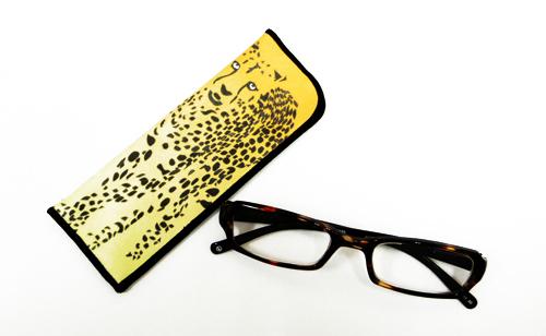 【値下げ!!!】JUJUBEE LOUGAN'S Art Leopard /アート レオパード 【ジュジュビーの老眼鏡ブランド】