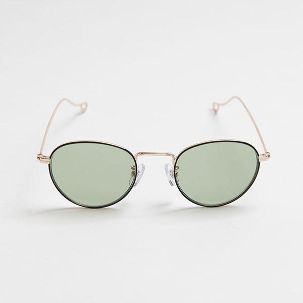 NATALIE Black Green Lens sunglasses 《ナタリー ブラック グリーンレンズ サングラス》