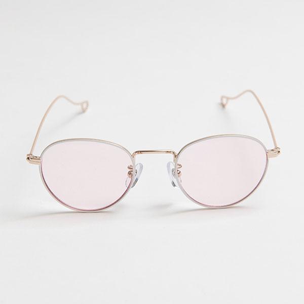 NATALIE White light color sunglasses 《ナタリー ホワイト ライトカラーサングラス》