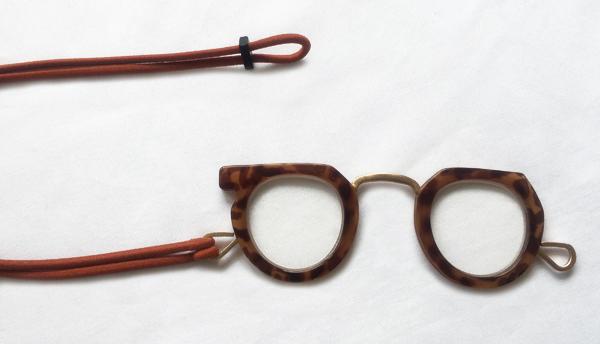 Ciqi Peep Glass Brown / シキ ピープグラス ブラウン 【ローネット】【ルーペ】【アクセサリー】