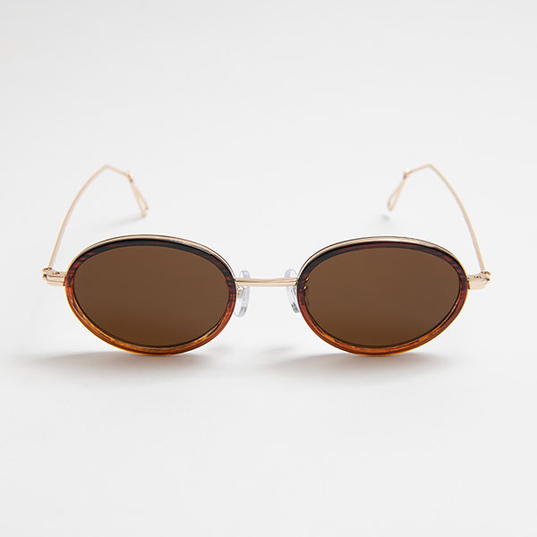 WES Clear Brown sunglasses 《ウェス クリアブラウン サングラス》