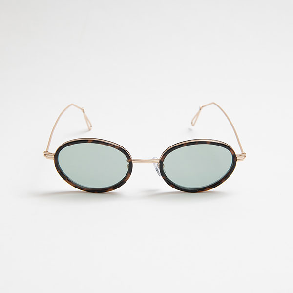 Ciqi Wes DEMI BROWN Light Color Sunglasses / ウェス デミブラウン  ライトカラー 【シキのサングラス】