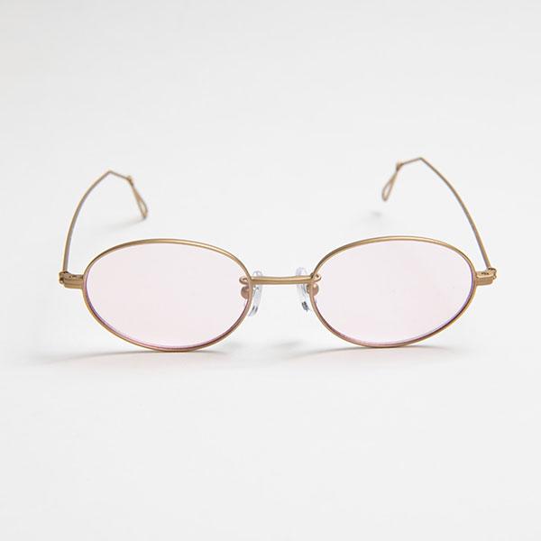 Ciqi Wes MATTE GOLD Light Color Sunglasses / ウェス マットゴールド  ライトカラー【シキのサングラス】