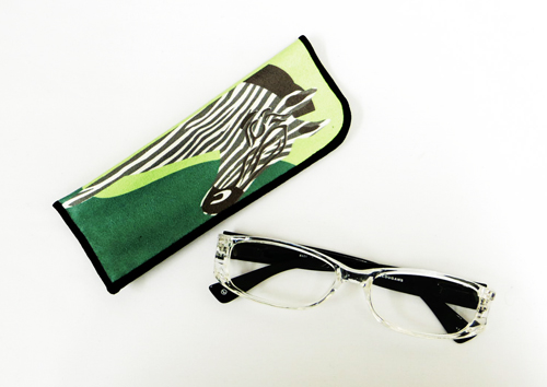 【値下げ!!!】JUJUBEE LOUGAN'S Art Zebra /アート ゼブラ 【ジュジュビーの老眼鏡ブランド】