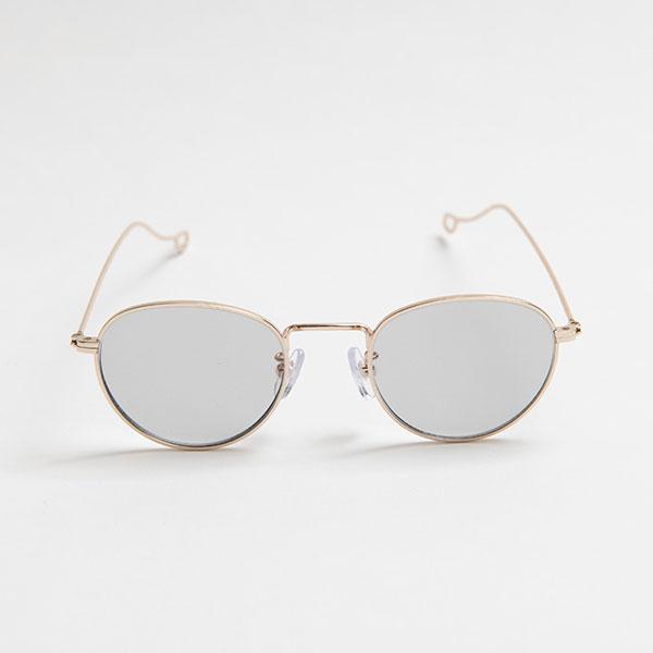 NATALIE Gold light color sunglasses 《ナタリー ゴールド ライトカラーサングラス》