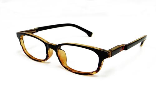 JUJUBEE Pete DEMI /ピート デミブラウン【ジュジュビーのPCメガネ・PC老眼鏡】