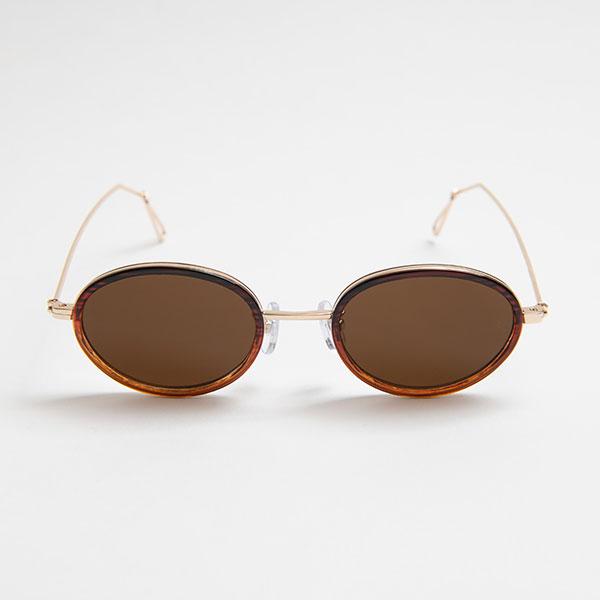 Ciqi Wes CLEAR BROWN Sunglasses / ウェス クリアブラウン 【シキのサングラス】