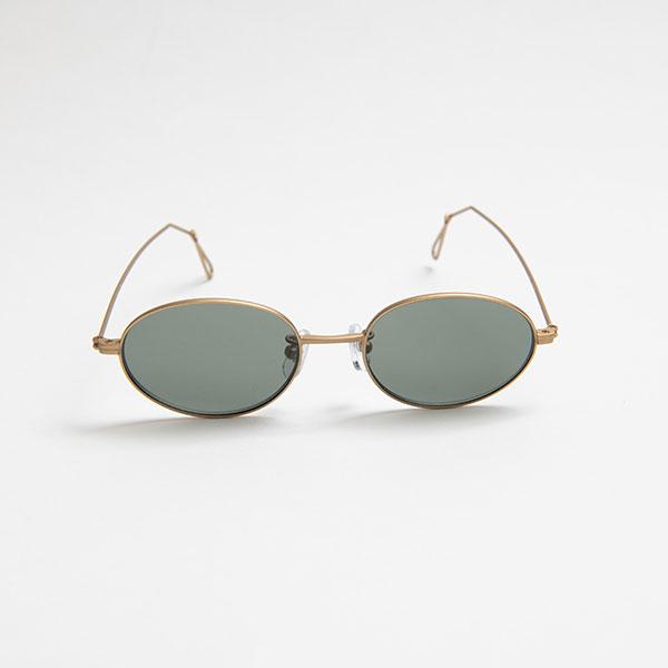 Ciqi Wes MATTE GOLD Sunglasses / ウェス マットゴールド 【シキのサングラス】