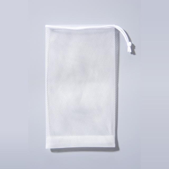 石鹸泡立てネット 白