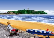 西の浜のひととき