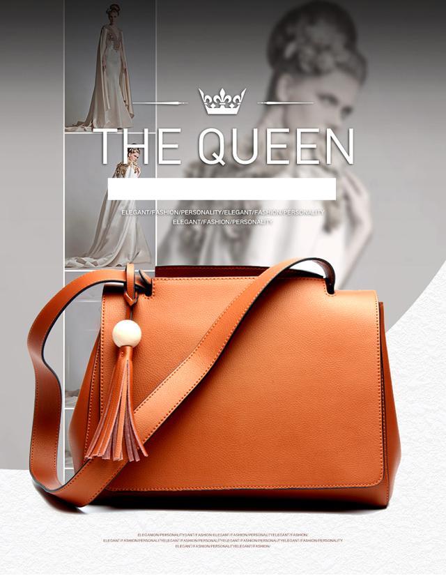 お洒落な高級バッグ - ファッション本革bag02