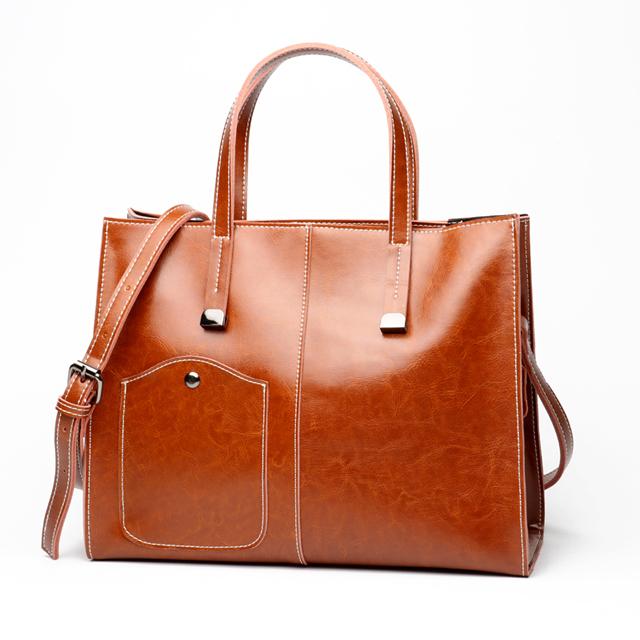 お洒落な高級バッグ - ファッション本革bag07