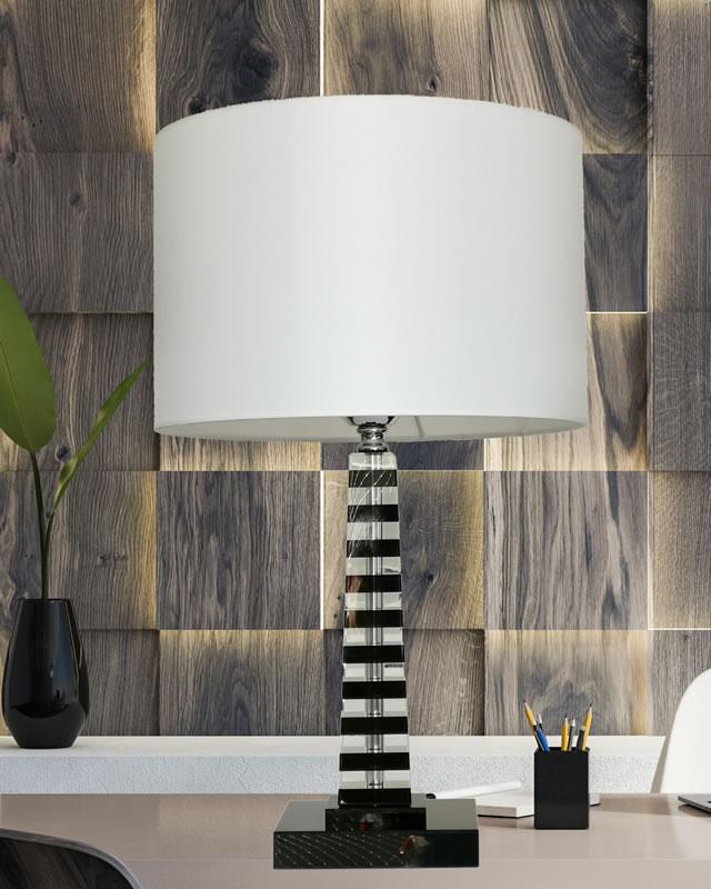 テーブルランプ JKT201  水晶 (インテリア照明 卓上スタンド デスクライト 北欧 お洒落)