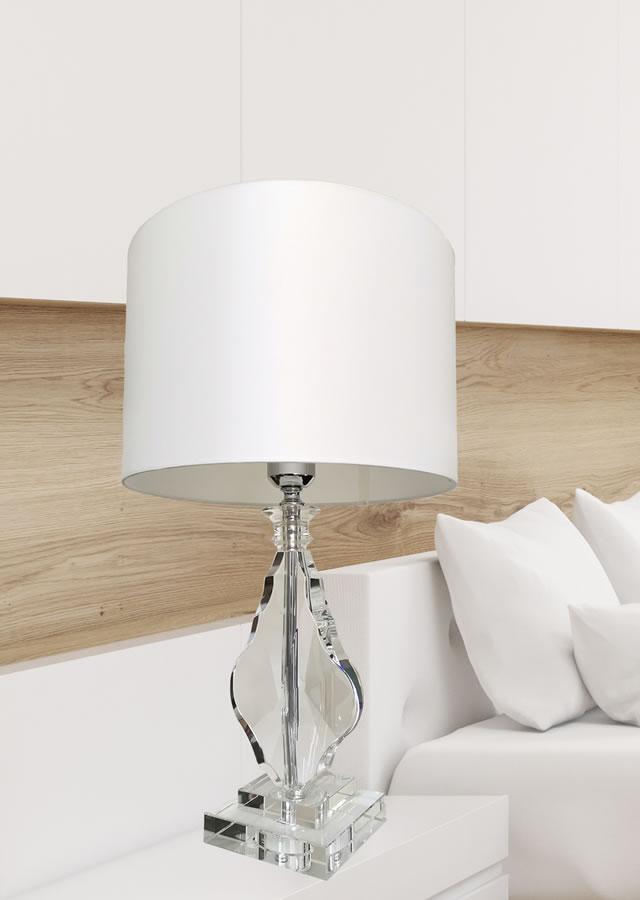 テーブルランプ JKT202  水晶 (インテリア照明 卓上スタンド デスクライト 北欧 お洒落)