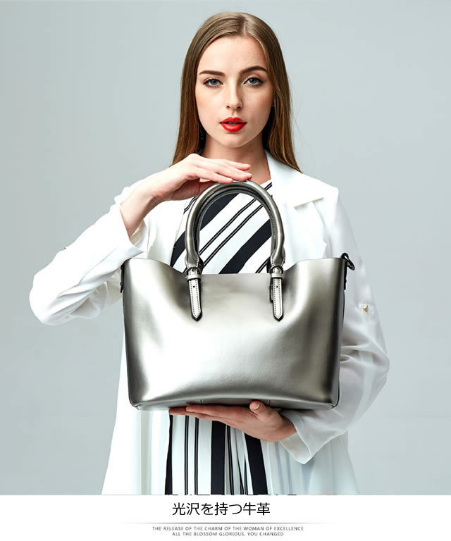 お洒落な高級バッグ - ファッション本革bag01