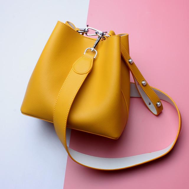 お洒落な高級バッグ - ファッション本革bag03