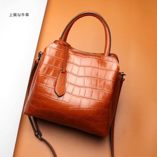 お洒落な高級バッグ - ファッション本革bag05